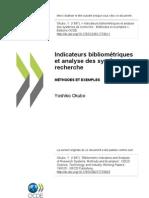 Indicateurys bibliométriques et analyse de système de recherche