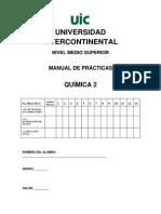Manual de Laboratorio de Quimica 2- Enero 2012
