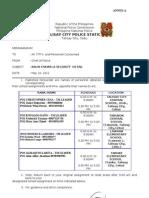Balik Eskwela Security Detail 2012