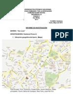 Informe de Investigación Barrio