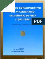 Aportaciones al conocimiento de la Prehistoria, Historia Antigua y Medieval de la Comarca de Zafra