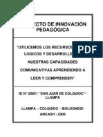 proyecto de innovaciòn