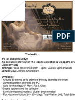 Nizam Exhibition @ Maya Jewels, Chandigarh
