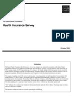 2003 Health Insurance Survey Summary and Chartpack