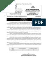 Notification No.4 Question Paper CET11