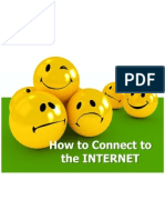How to Connect to the INTERNET
