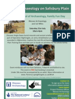 Project Florence - British Festival of Archaeology