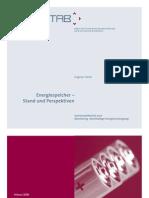 Oertel 2008 - Energiespeicher Und Perspektiven (TAB-Arbeitsbericht-Ab123)