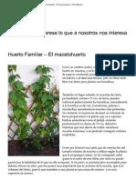 Huerto Familiar – El macetohuerto « Felix Maocho