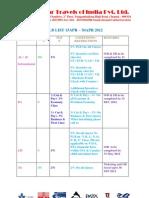Updated PLB List 15APR to 30APR 2012