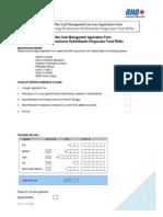 Reflex Application Form En