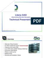 Alternator Pulley OAD Technical Presentation