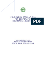 Prudential Regulations for Corporate or Commerial Banking