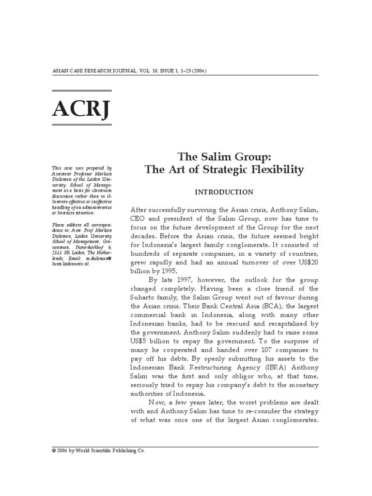 Salim Group | Indonesian Rupiah | Indonesia