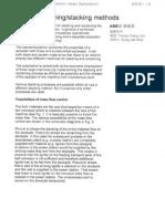 Coal Stacking & Reclaiming Method
