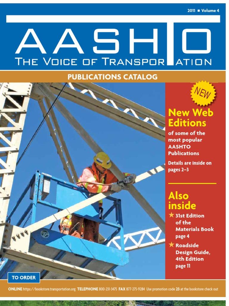 Aashto catalog specification technical standard bridge fandeluxe Gallery