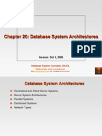 Ch20 Database System Architectures