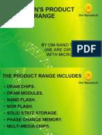 Micron's Product Range