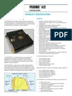 PRISMIC A12 Excitation Controller