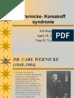 Wernicke Korsakoff Syndrome