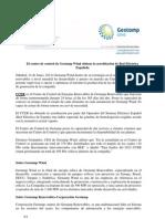 El centro de control de Gestamp Wind obtiene la acreditación de Red Eléctrica Española