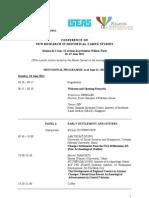 Champa Studies Programme 11-06-2012