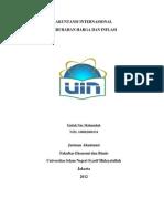 Akuntansi Internasional Untuk Perubahan Harga Dan Inflasi