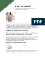Alimentos Probioticos y Prebioticos