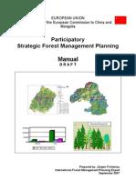 FMP_Manual_Participatory Strategic Forest Management Planning Manual_Draft_EN_Jürgen Fichtenau