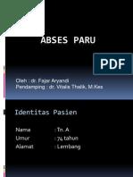 Abses Paru 03