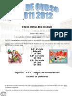 Fin Curso 2012