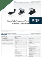 Precisionhd-1080p-720p Camera User Guide Tc40