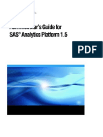 Analytics Platform 1.5
