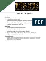 Skill Set Categories - Maac