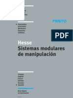 Sistemas modulares de manipulación