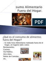 Consumo Alimentario Fuera Del Hogar