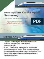 Persinyalan Kereta API Di Semarang