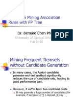 Chapter 5 Association Rules FP Tree