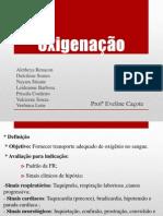 Oxigenoterapia - Semio