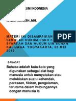 Copy of Bahasa Hukum Indonesia