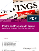 Pricing and Promotion in Europe