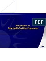 Presentation on New Health Facilitieson16!05!2012