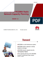 05 OWJ100102 WCDMA Radio Network Capacity Planning (With Comment) ISSUE 1.0