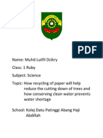 Science Report Activity 4.4