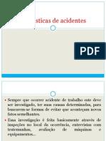 Estatísticas de acidentes