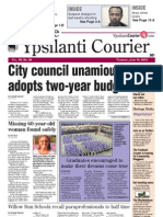 Ypsilanti Courier front page June 14