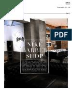 Surface Football Magazine Nike Barber shop