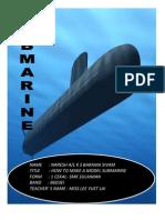 Model Submarine Project