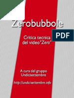 Zerobubbole (bozza, le prime 137 pagine)