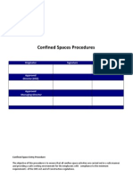 Section 39 Confined Space Procedure